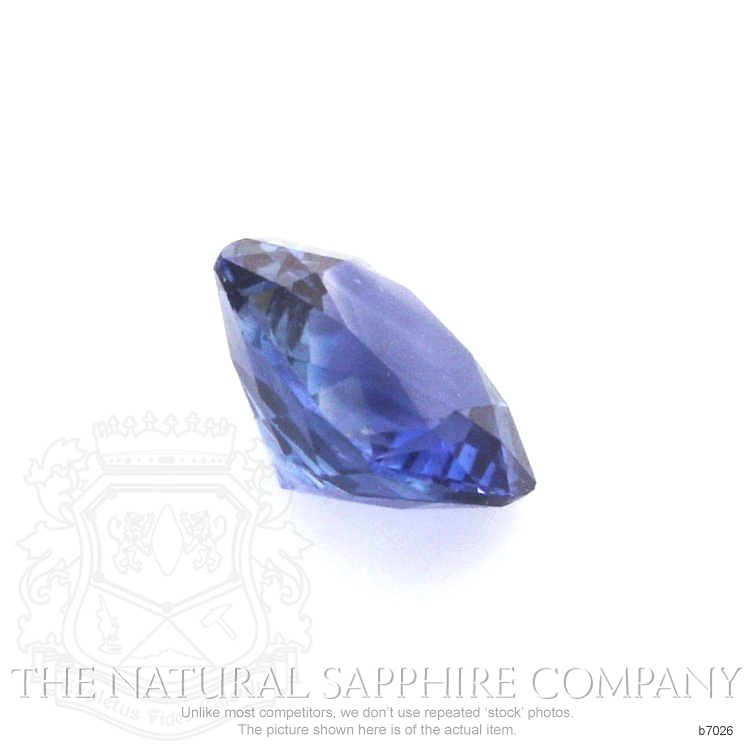 Natural Blue Sapphire B7026 Image 3