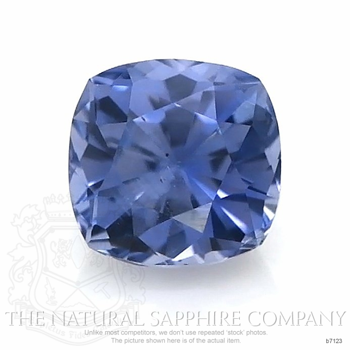 Natural Untreated Blue Sapphire B7123 Image