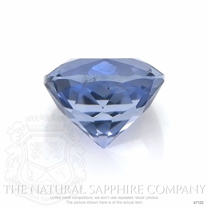 Natural Untreated Blue Sapphire B7123 Image 2