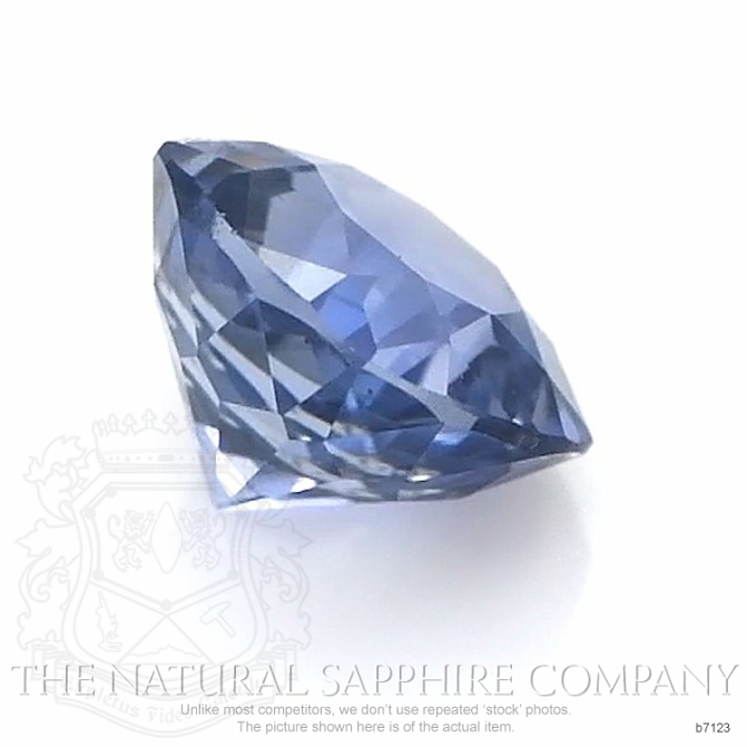 Natural Untreated Blue Sapphire B7123 Image 3