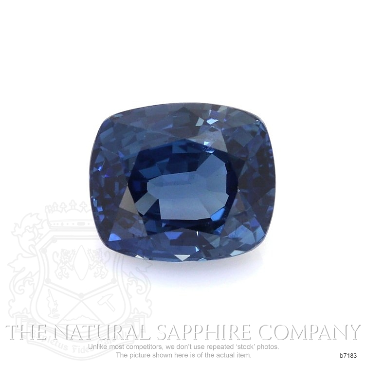 Natural Untreated Blue Sapphire B7183 Image