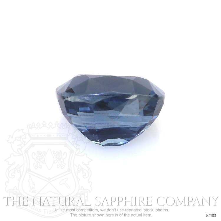 Natural Untreated Blue Sapphire B7183 Image 2