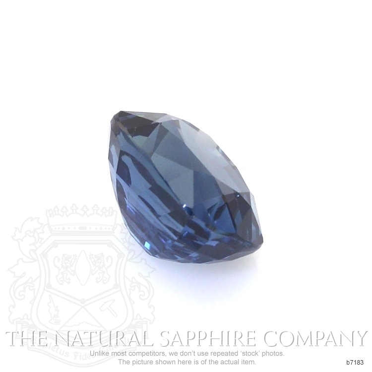 Natural Untreated Blue Sapphire B7183 Image 3