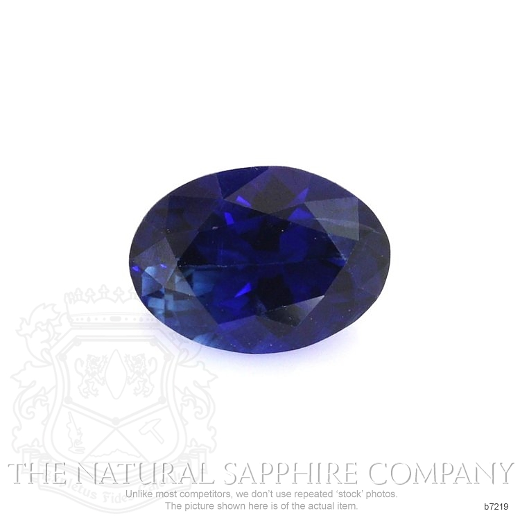 Natural Blue Sapphire B7219 Image