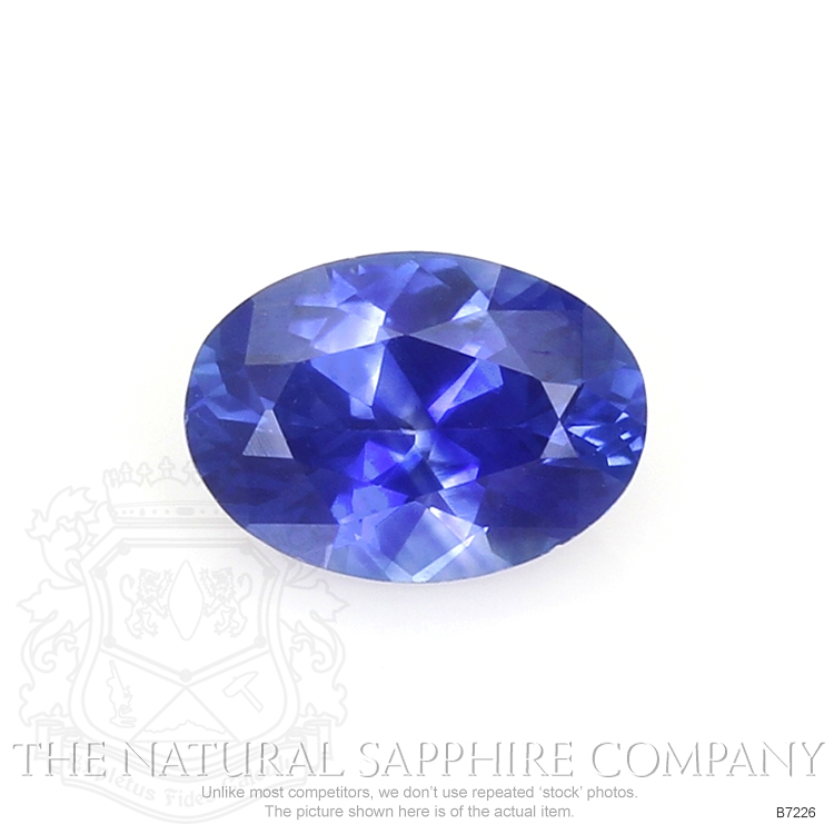 Natural Blue Sapphire B7226 Image