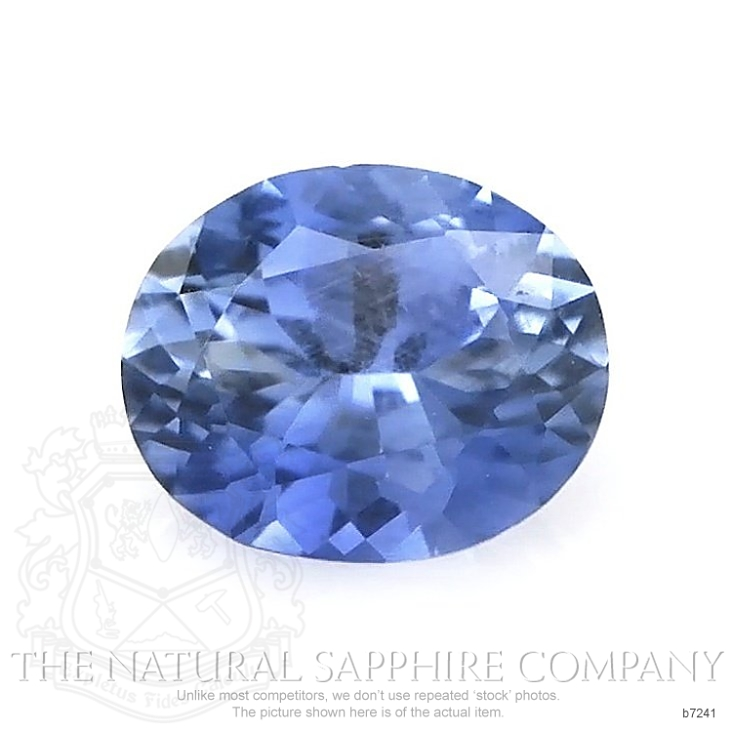 Natural Blue Sapphire B7241 Image