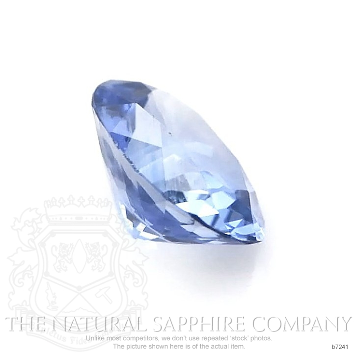 Natural Blue Sapphire B7241 Image 3