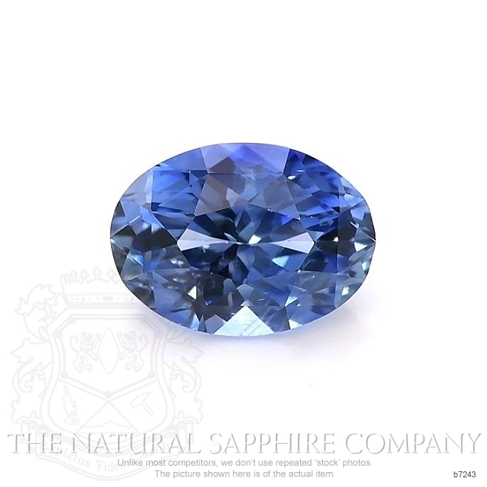 Natural Blue Sapphire B7243 Image