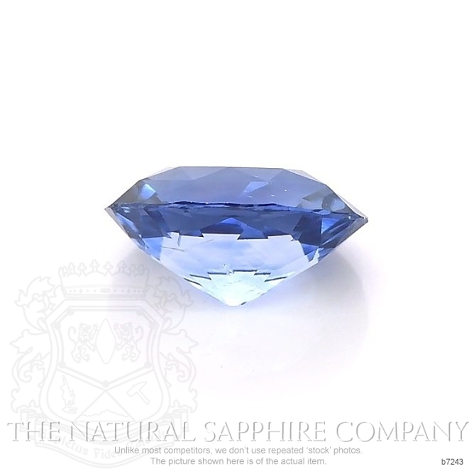 Natural Blue Sapphire B7243 Image 2