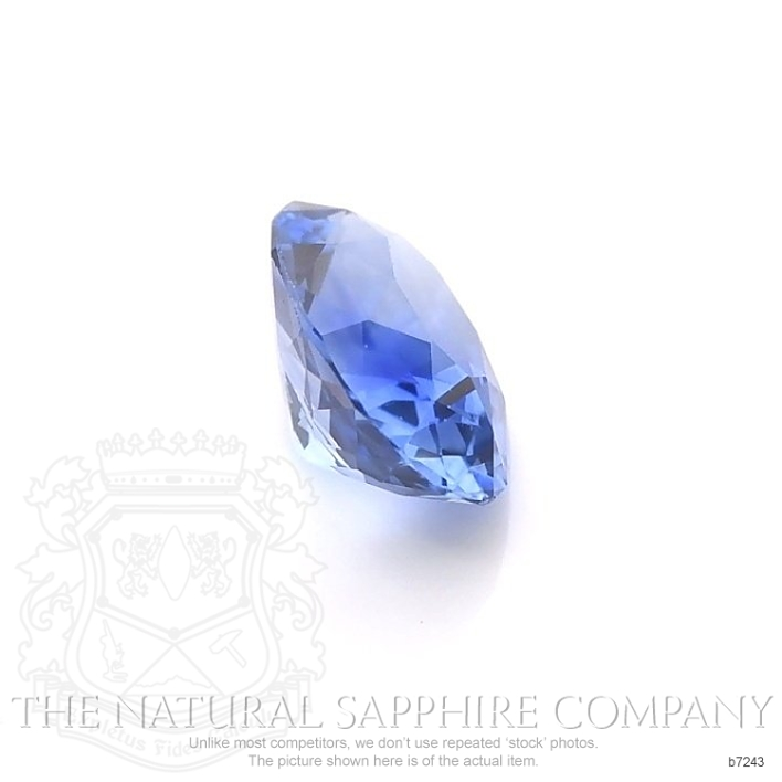 Natural Blue Sapphire B7243 Image 3