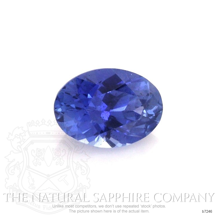 Natural Untreated Blue Sapphire B7246 Image