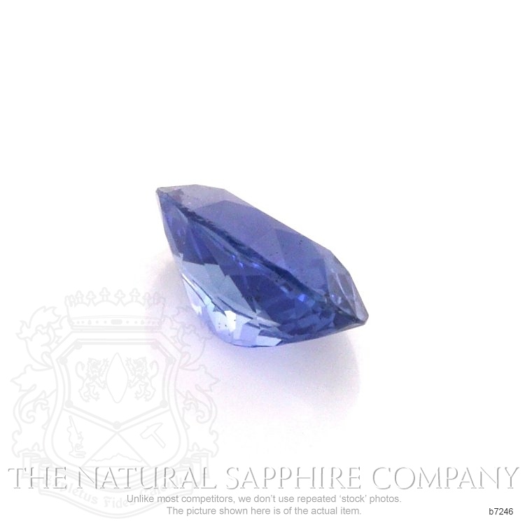 Natural Untreated Blue Sapphire B7246 Image 3
