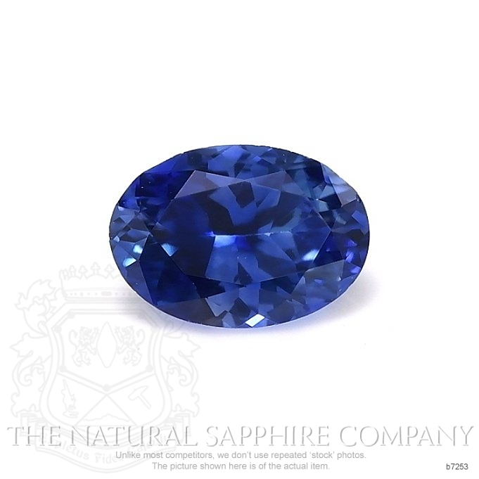 Natural Blue Sapphire B7253 Image