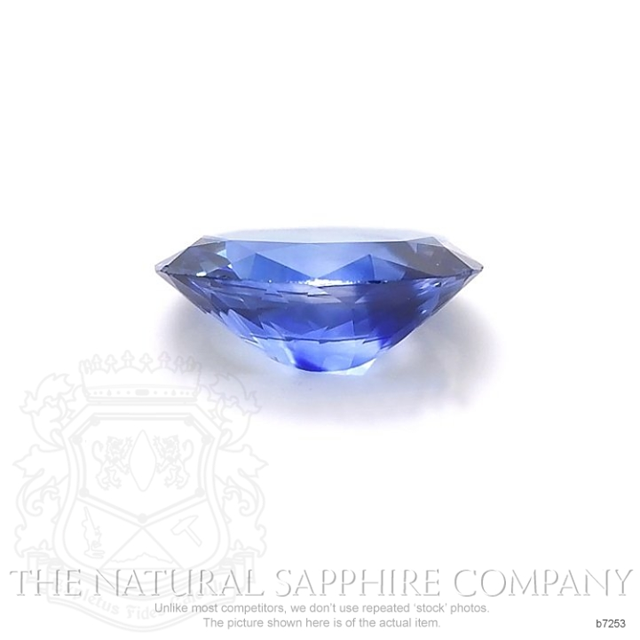 Natural Blue Sapphire B7253 Image 2