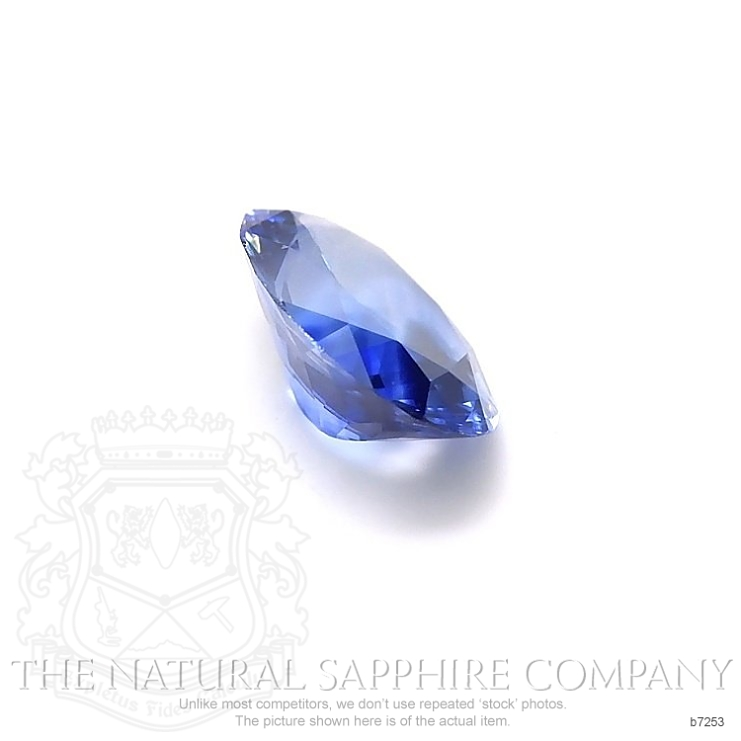 Natural Blue Sapphire B7253 Image 3