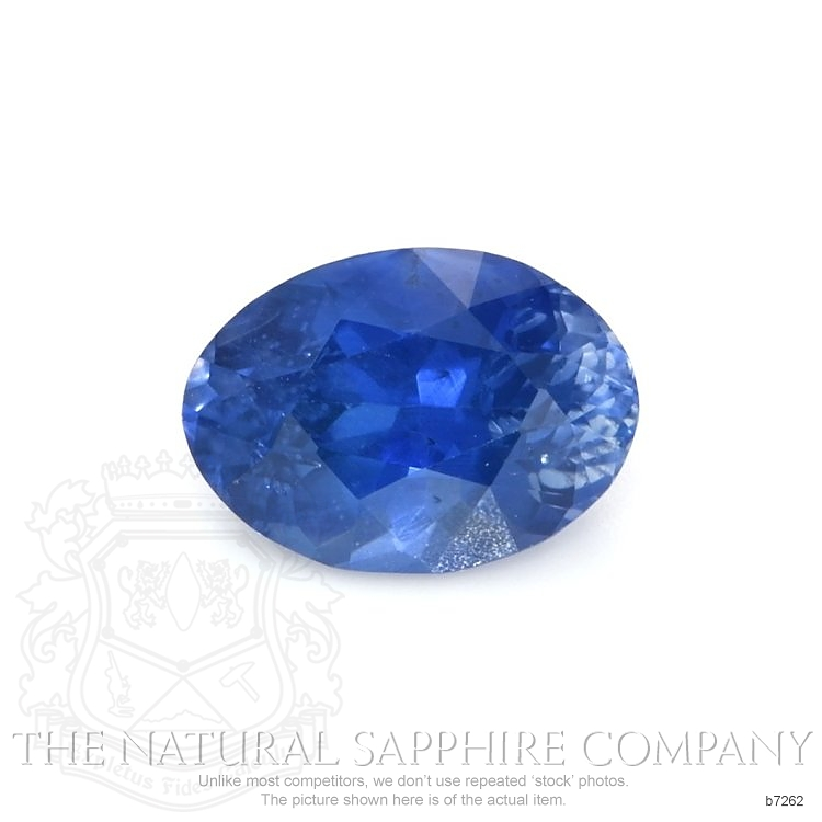 Natural Blue Sapphire B7262 Image