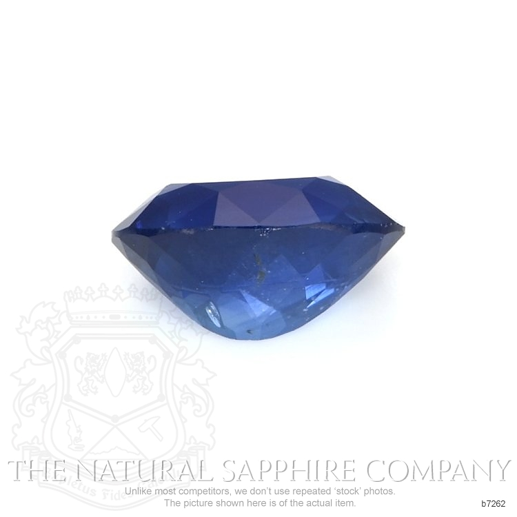 Natural Blue Sapphire B7262 Image 2