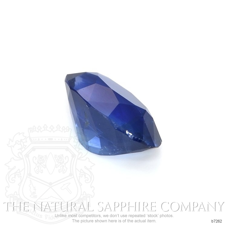 Natural Blue Sapphire B7262 Image 3