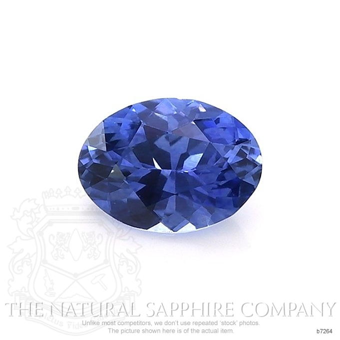 Natural Blue Sapphire B7264 Image