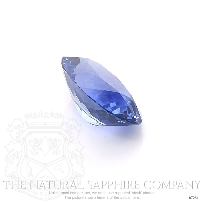 Natural Blue Sapphire B7264 Image 3
