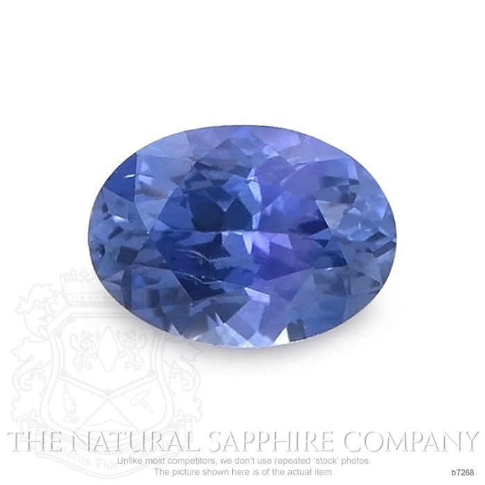 Natural Blue Sapphire B7268 Image