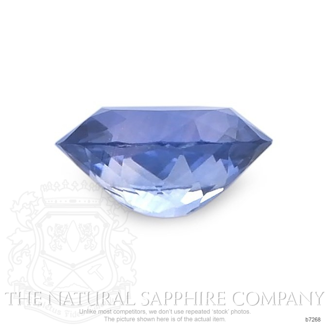 Natural Blue Sapphire B7268 Image 2