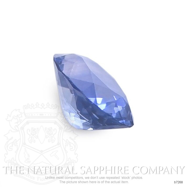Natural Blue Sapphire B7268 Image 3