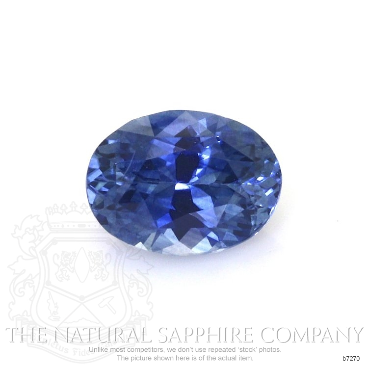 Natural Blue Sapphire B7270 Image