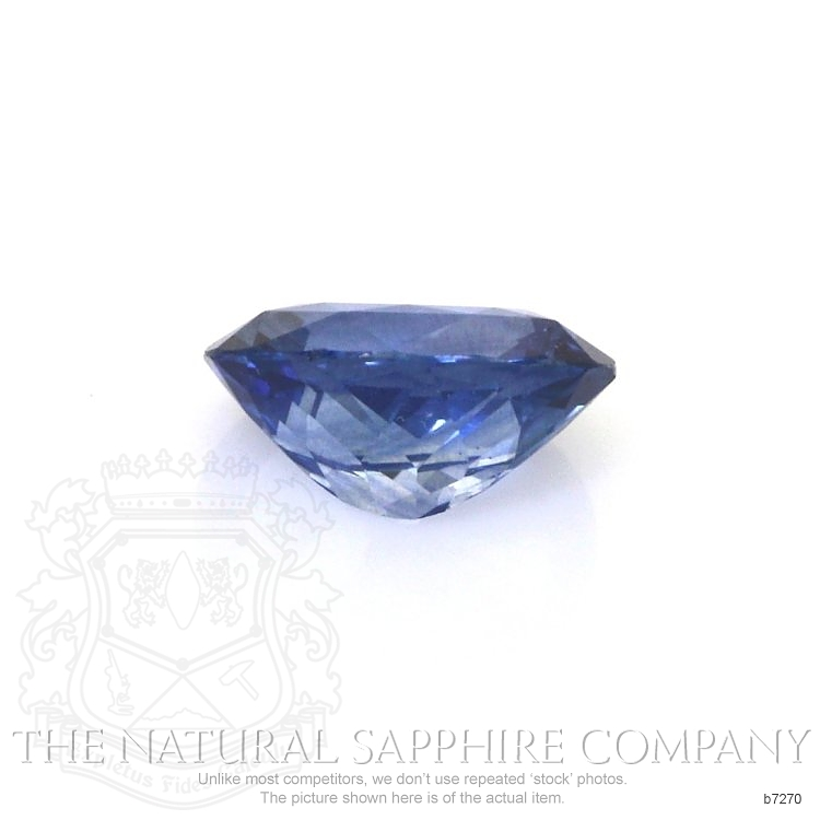 Natural Blue Sapphire B7270 Image 2
