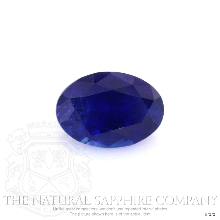 Natural Blue Sapphire B7272 Image