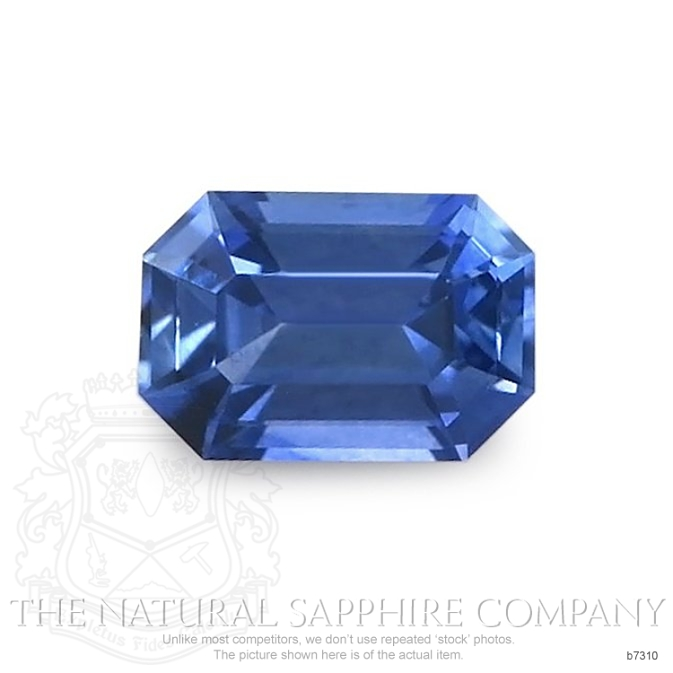 Natural Blue Sapphire B7310 Image