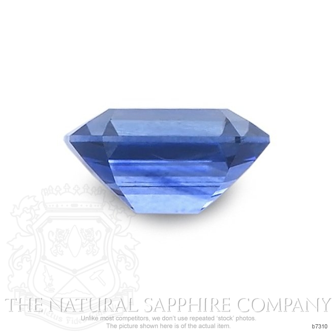 Natural Blue Sapphire B7310 Image 2