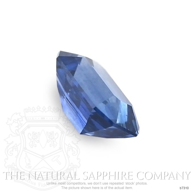 Natural Blue Sapphire B7310 Image 3