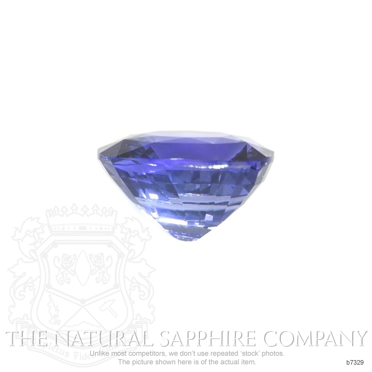 Natural Untreated Bluish Purple Sapphire B7329 Image 2