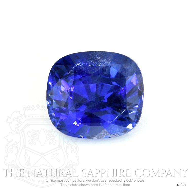 Natural Untreated Blue Sapphire B7331 Image