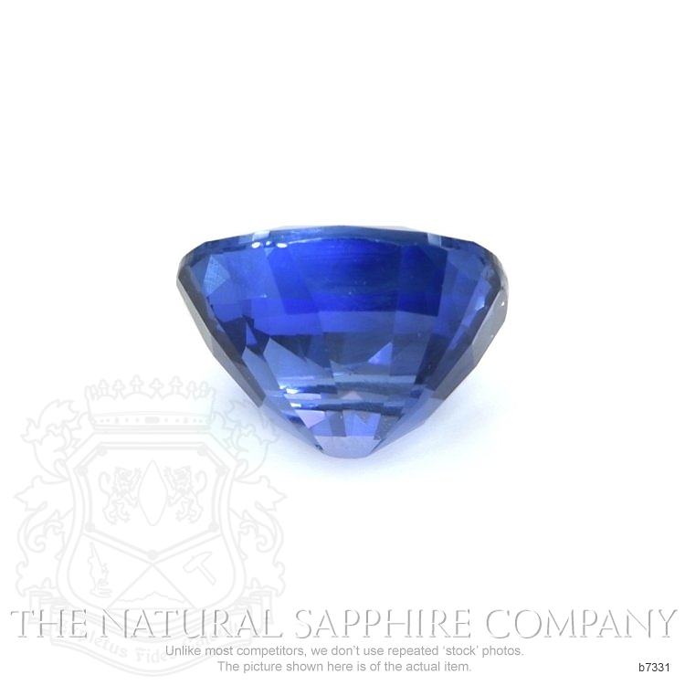 Natural Untreated Blue Sapphire B7331 Image 2