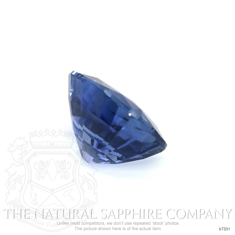 Natural Untreated Blue Sapphire B7331 Image 3