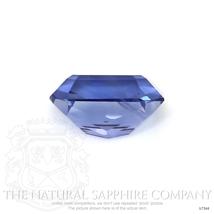 Natural Untreated Blue Sapphire B7344 Image 2