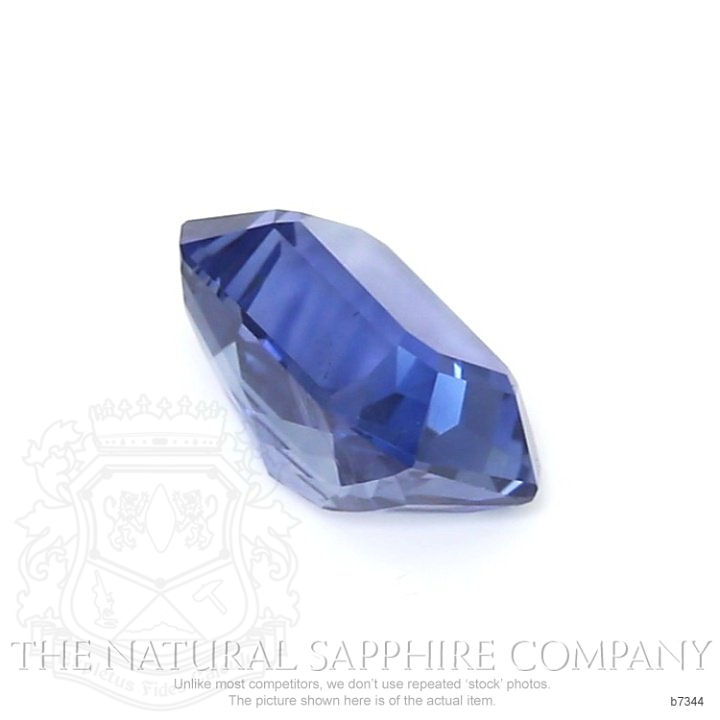 Natural Untreated Blue Sapphire B7344 Image 3