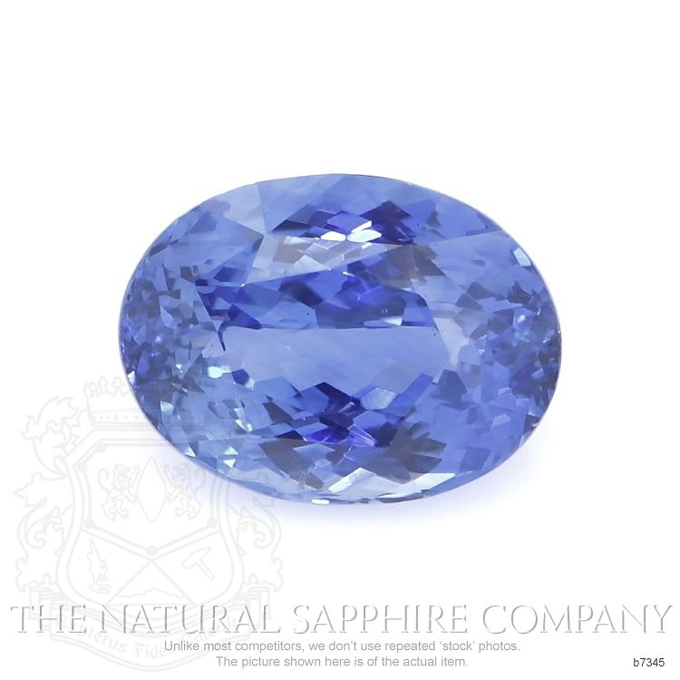 Natural Untreated Blue Sapphire B7345 Image