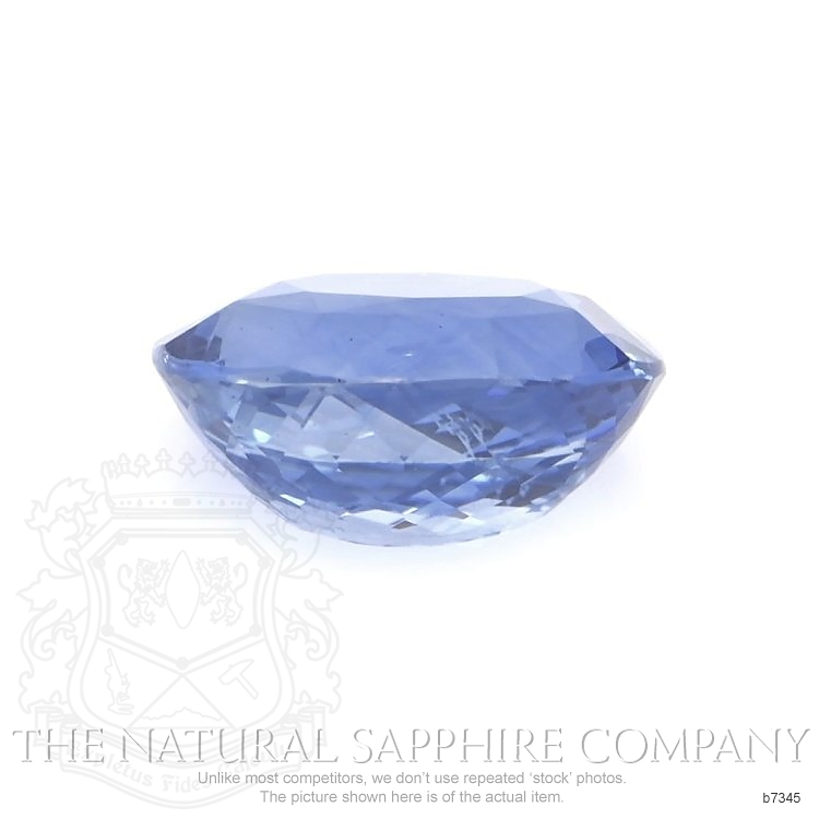Natural Untreated Blue Sapphire B7345 Image 2