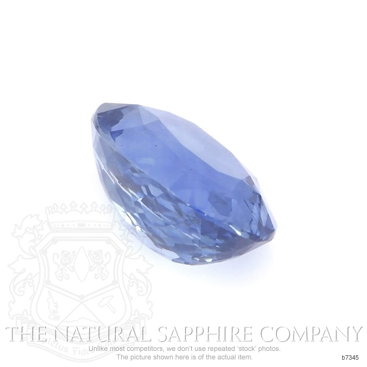 Natural Untreated Blue Sapphire B7345 Image 3