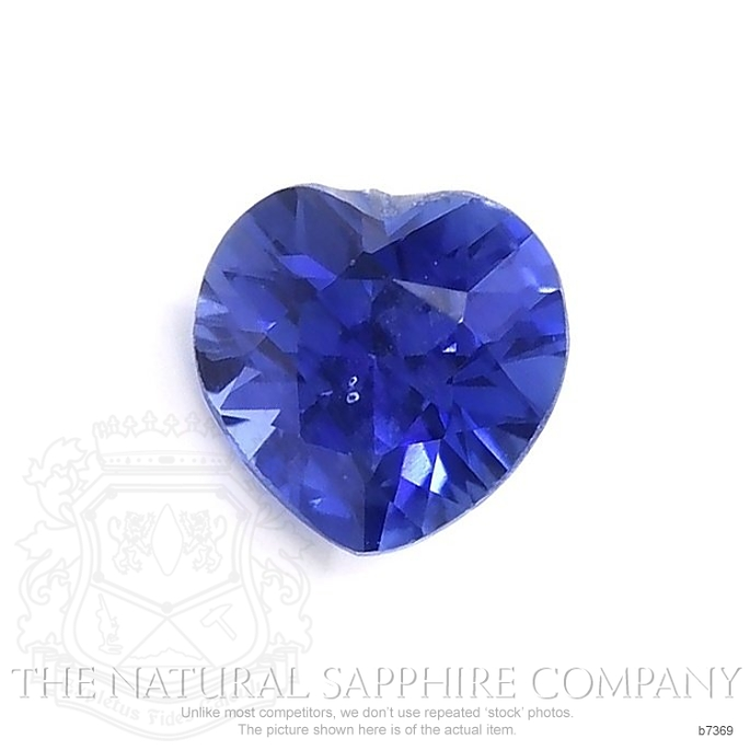 Natural Untreated Blue Sapphire B7369 Image