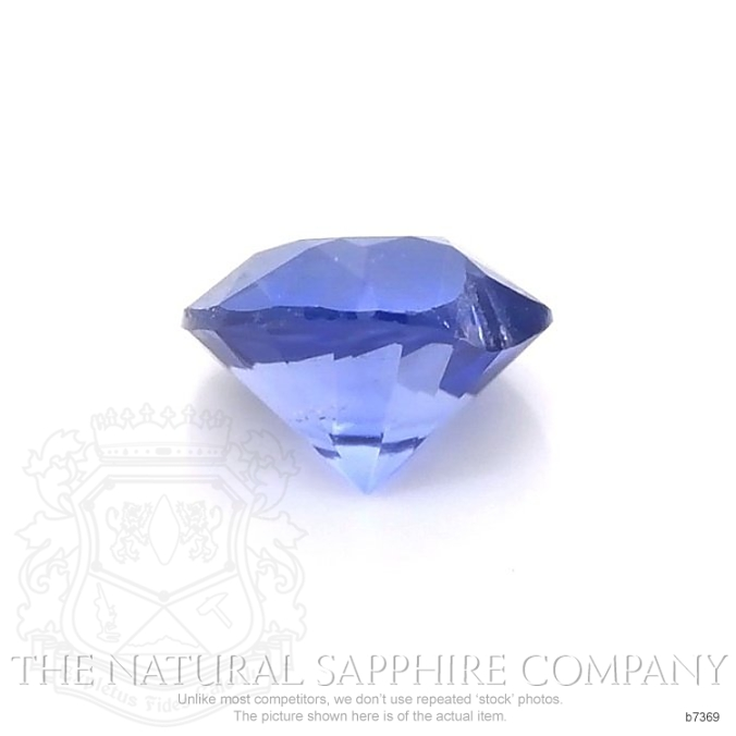 Natural Untreated Blue Sapphire B7369 Image 2