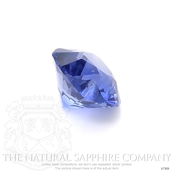 Natural Untreated Blue Sapphire B7369 Image 3