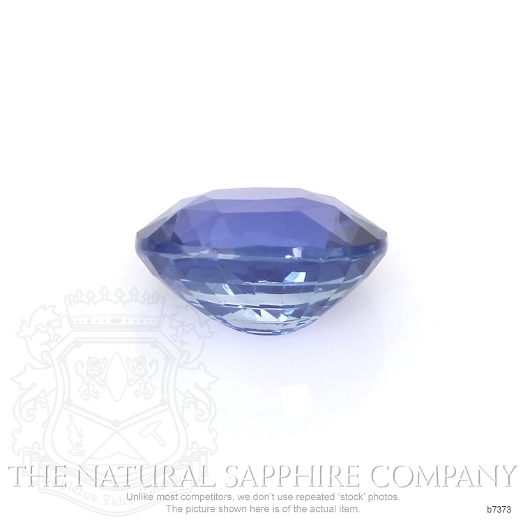 Natural Untreated Blue Sapphire B7373 Image 2
