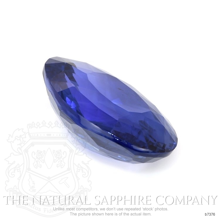 Natural Untreated Blue Sapphire B7376 Image 3