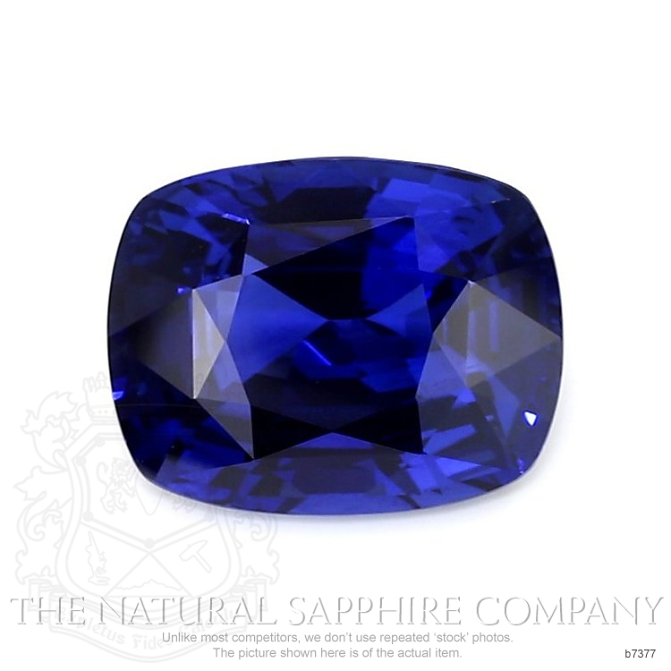 Natural Blue Sapphire B7377 Image