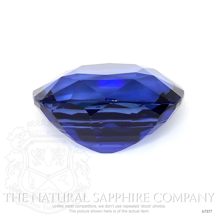 Natural Blue Sapphire B7377 Image 2