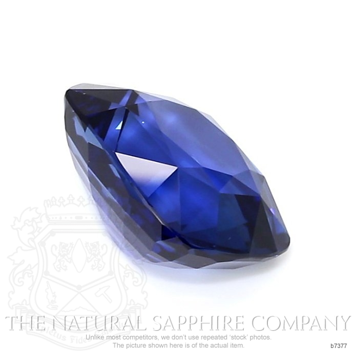 Natural Blue Sapphire B7377 Image 3